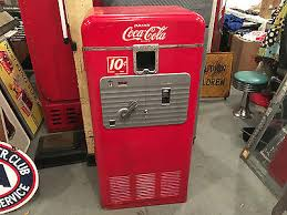 Vintage Coca Cola Vending Machines Delectable ANTIQUE COKE MACHINES Collection On EBay