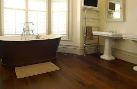 Bathroom Wood Floor Home Design
