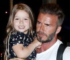 дэвид бекхэм продолжает делать тату в честь дочки журнал Cosmopolitan
