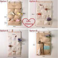 z cloth wall pocket storage bag home hanging pocket organizer