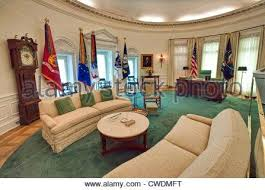 oval office desk replica. White House Oval Office The In Replica At Library And Museum . Desk U
