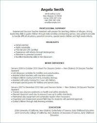 Special Education Assistant Resume Impressive 48 Best Of Sample Special Education Teacher Resume Images