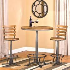 tall round pub table sets high top bistro lovely and chairs indoor bar height 3 within