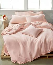 calvin klein full queen duvet cover julian pink modern cotton jersey e92008