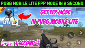 Get FPP Mode in PUBG Mobile Lite ...