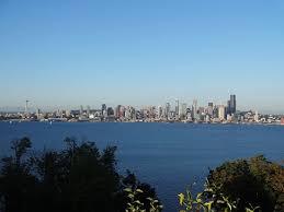 Seattle Cityscape Seattle Skyline Picture Of Hamilton Viewpoint Park