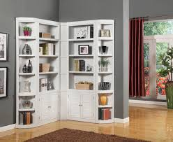 corner shelves furniture. Parker House Boca Corner Bookcase Unit - Item Number: BOC-2x430+2x450+ Shelves Furniture H