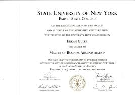 state college master diploma empire state college master diploma