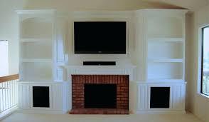 bookcases around fireplace custom white cabinets bookshelf design bookshelves each side cabine