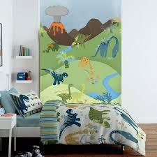1 Wall Cartoon Dinosaur Childrens Mural Kids Wall Art 1.58 X (Image 1 of 20