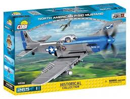 <b>Конструктор Cobi</b> Small Army World War II 5536 <b>Самолет P</b>-<b>51D</b> ...