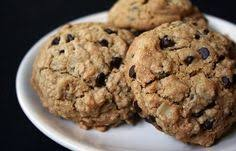 crispy oatmeal chocolate chip cookies by kim trista bunker gluten free pamelas baking mix