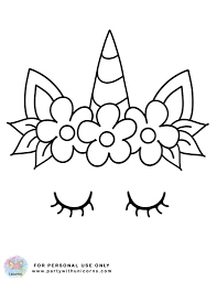 You could even add some glitter for an extra sparkly, magical touch! Unicorn Coloring Pages Free Download