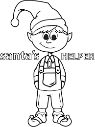 Free Printable Elf Coloring Page For Kids 5 Supplyme