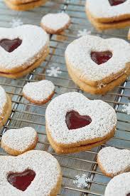 Walnuts, chopped raspberry jam, no seeds. Classic Austrian Linzer Cookies Gemma S Bigger Bolder Baking