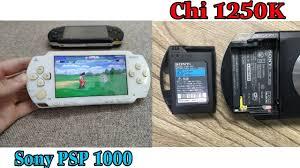 Máy chơi game Sony PSP 1000 l Yêu Công Nghệ - YouTube