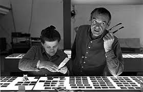 "charles ray eames the painter and the architect essay a  ray and charles eames selecting slides for the exhibition ""photography the city"