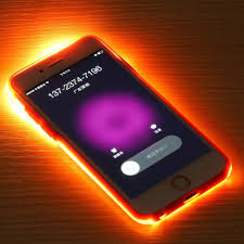 Iphone Light Cover Luminous Flash Light Cover Case For Iphone 5 5s