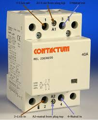 wiring a contactor diynot forums just make sure the contactor coils is 220 240 volt
