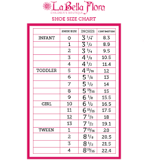 Kids And Girls Shoes Girls Shoes Size Chart