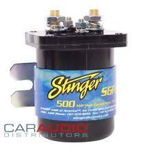 stinger sgp32 sr200 200 amp relay daul battery isolator new stinger sgp35 500 amp 12v battery relay and isolator