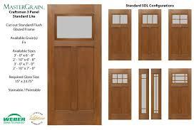 craftsman fiberglass entry doors