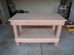Stirring Free Diy Garage Workbench Plans Pictures Design Easy Wood