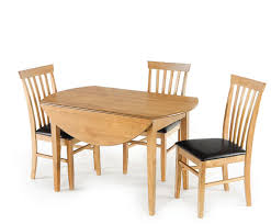 augustine round drop leaf table and chairs