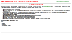 Experience Certificate Format Interior Design Simple Experience ...