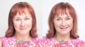 how to do a day time makeup for the over 60 s