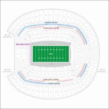 Invesco Field Seating Chart Best Of Charts Collection