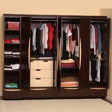 Small Wardrobe Cabinet Stunning Closet Wall Drawers Roselawnlutheran