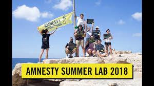 Amnesty Summer Lab 2018 Lampedusa
