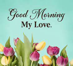 good morning love messages and wishes