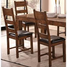 rustic leather dining chairs. Lenox Bold Block Design Distressed Honey Rustic Dining Chairs (Set Of 2) Leather