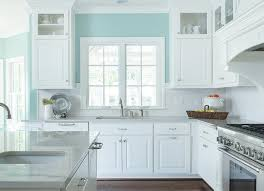turquoise kitchen walls