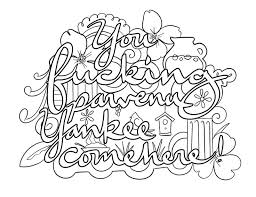 I Love You Coloring Pages 299 Best Swear Words Adult Coloring Pages