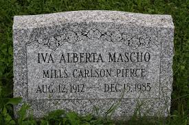 Iva Alberta Mascho Pierce (1912-1985) - Find A Grave Memorial