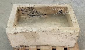 antique kitchen stone trough sinks by ancient surfaces old stone reclaimed farm sink