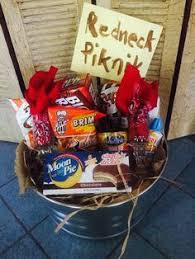 my rendition of a redneck picnic basket