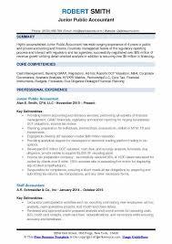 Professional Accountant Resume Public Accountant Resume Samples Qwikresume