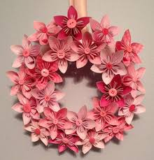 diy tutorial inspirations origami kusudama paper flower wreath 10 by kreationsbykia on etsy bead cord