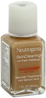 get ations neutrogena skinclearing oil free makeup um beige 1 fl oz 30 ml