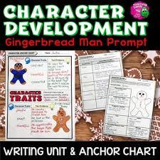 Narrative Development Chart Character Development Gingerbread Man Narrative Writing Unit Anchor Chart