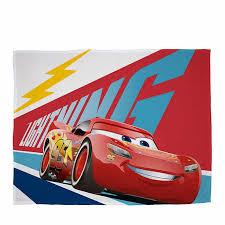 disney cars 3 lightning fleece blanket