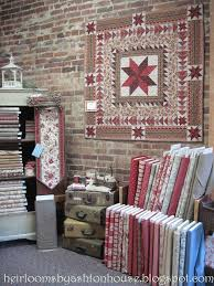 55 best Cute Quilt Shops images on Pinterest | At home, Beautiful ... & quilt shop display | Heirlooms by Ashton House: A LITTLE QUILT AND A QUILT  SHOP Adamdwight.com