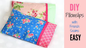 Pillowcase Pattern Easy Youtube How To Make Pillowcase Pattern In Sizes