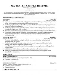 cover letter Manual Qa Tester Resume Sample Manual S Application Resumeqa sample  resume