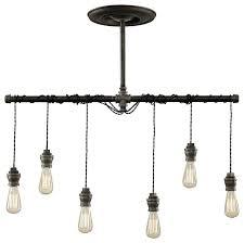 industrial lighting fixtures. dixon 6light pendant industrialpendantlighting industrial lighting fixtures