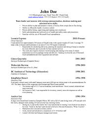 Best Resume For Owner Of Small Business Gallery Simple Resume